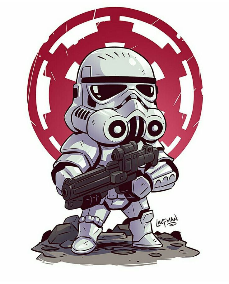 Stormtrooper by Derek Laufman