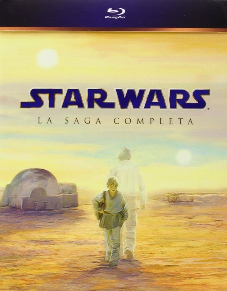 Star Wars toda la saga en Blue Ray
