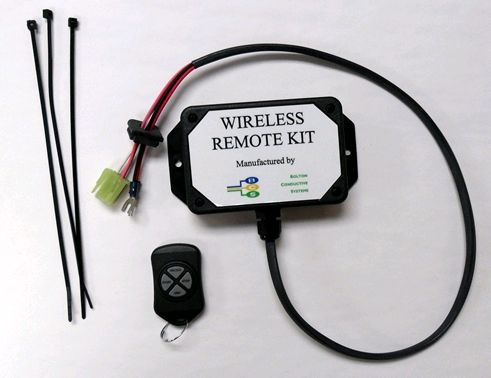 Wireless remote kit for convenient remote start/stop.