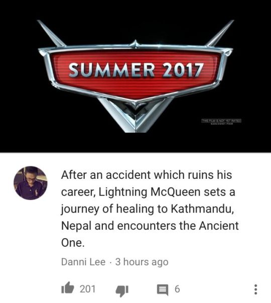 So it's basically another version of Dr Strange