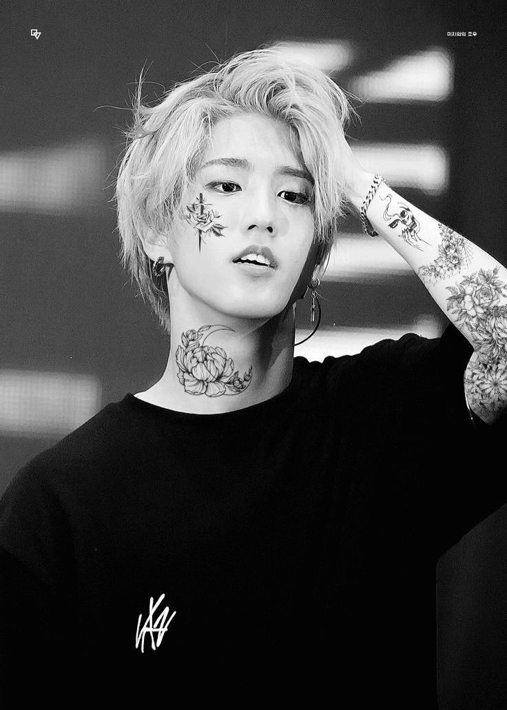 Kpop Idol Tattoo Edit Idol Tattoo Kpop Tattoos For Kids Kpop Idol Beautiful Men