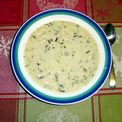 chicken and wild rice soup YUMMY recipe