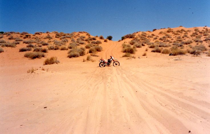 Big Red, The largest dune in the Simpson Desert.  Off Road Adventure Safaris.  www.tourcapeyork.com.au