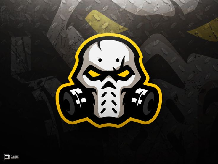 Skull Mask eSports Logo by Derrick Stratton  https://www.kznwedding.dj