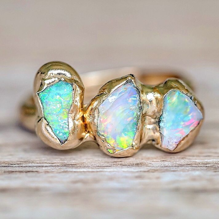 Opal Rings Hand Made