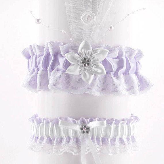 Pink Wedding garter set white pink lace garter wedding