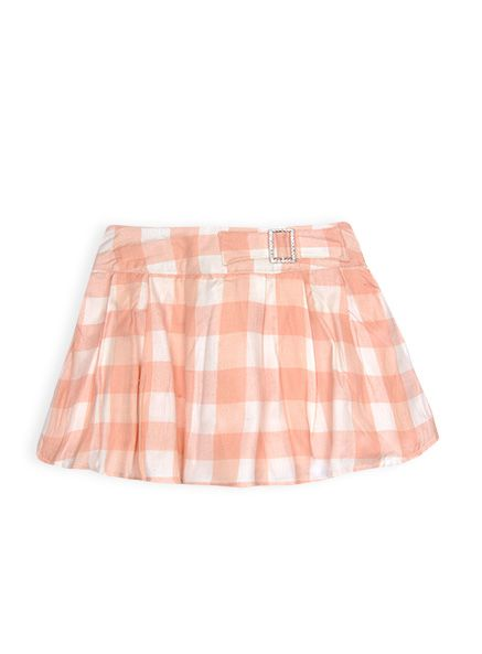 Pumpkin Patch - skirts - gingham skirt - W4TG70010 - tropical peach - 12-18m to 5