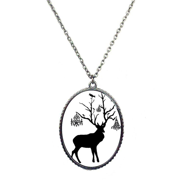 Near & Deer Necklace