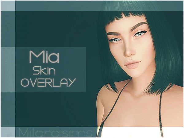The Sims Resource: Mia Skin Overlay by Milarasims • Sims 4 Downloads