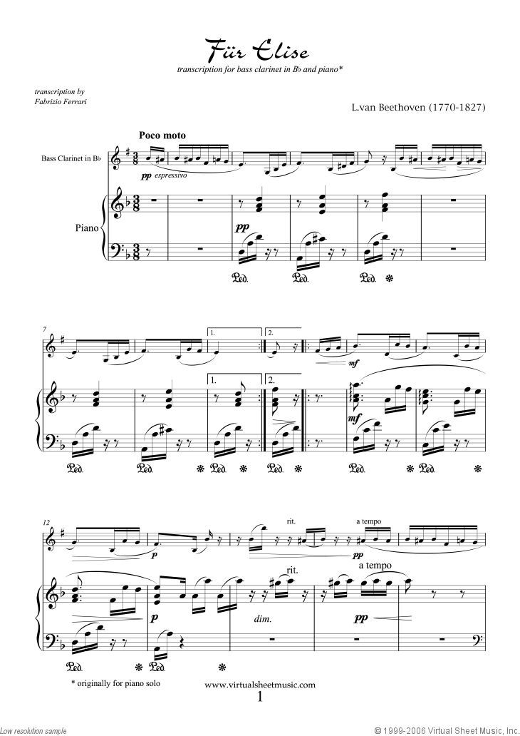 17+ How to play fur elise letter notes trends