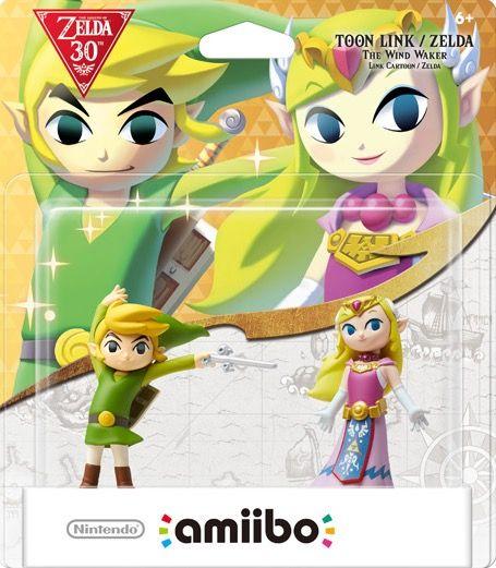 Wind Walker Link & Zelda 2-Pack - Legend of Zelda 30th Anniversary Series