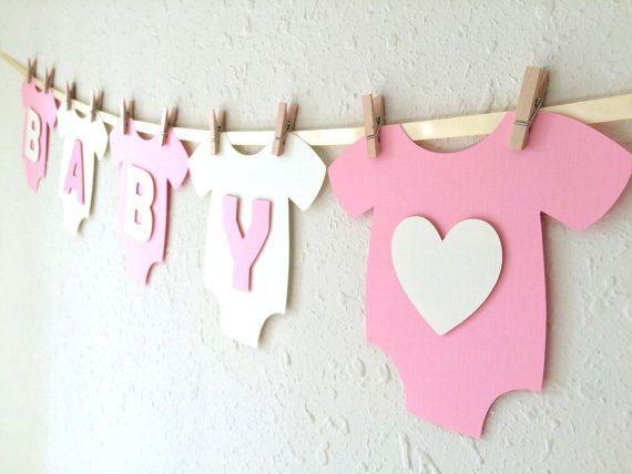 Baby One-Piece Bodysuit BABY GIRL Baby Shower