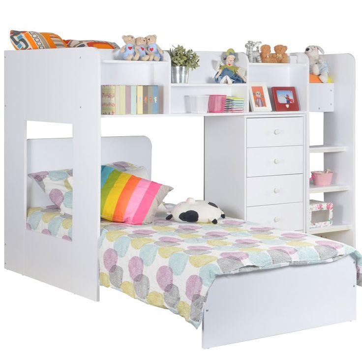 Offset Bunk Beds 178 best boys adventure bedroom images on pinterest | bedroom