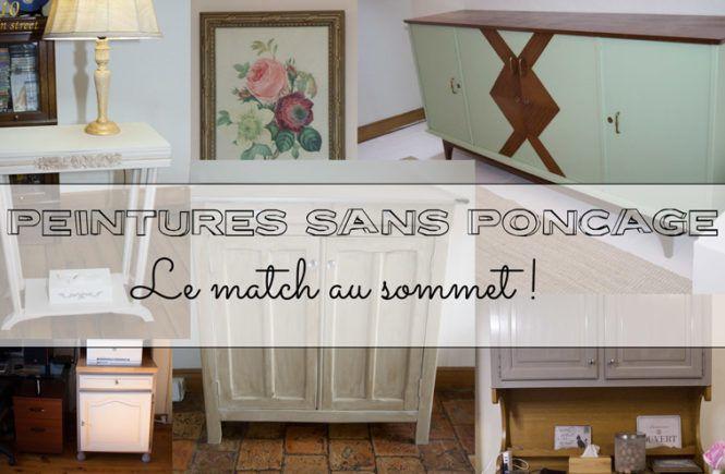 25+ best ideas about Peinture sans poncer on Pinterest