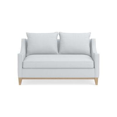 Astonishing Presidio Loveseat Standard Cushion Tuscan Leather Machost Co Dining Chair Design Ideas Machostcouk