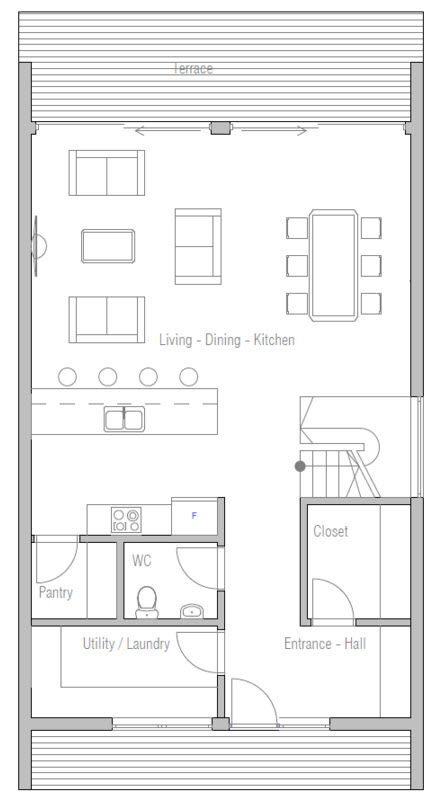 Dise os de casas peque as bonitas y econ micas nuestra for Planos de casas economicas