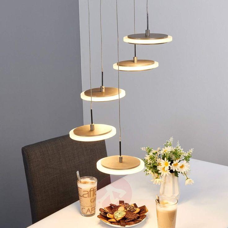 Pretty 5-light LED pendant light Miran-Pendant Lighting-9640048-30