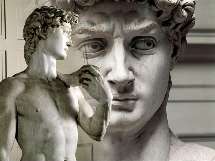 michangelo images | The Statue of David by Michelangelo is one of the most well- known ...