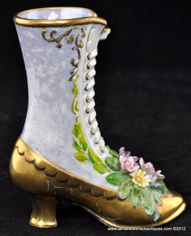 101 Best Images About Victorian Glass Amp Porcelain Shoes On Pinterest Ceramics Miniature And