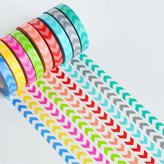 Hey, I found this really awesome Etsy listing at https://www.etsy.com/listing/189668976/washi-tape-9-rolls-rainbow-washi-tape-9