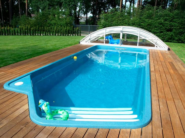 The 25 best above ground fiberglass pools ideas on for Above ground fiberglass pools