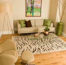 how to make a rug from canvas drop cloth