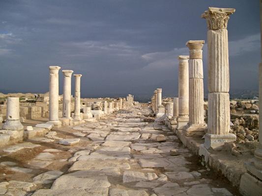 Laodicea, Turkey (The Lukewarm Church)