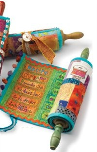 What about making a fabric Torah?