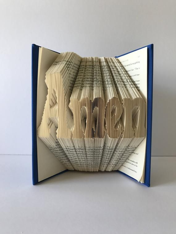 Amen Book Fold Personalized Christian Gifts Jesus Catholic Religious Birthday Folding Centerpieces Gift For Her Sculpture