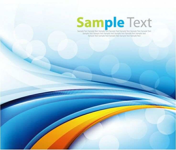 ABSTRACT / Blue Background Vector Art