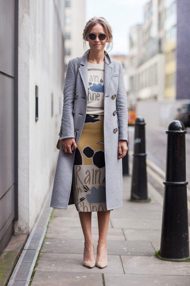 STREET STYLE NA London Fashion Week - F/W 2015/16