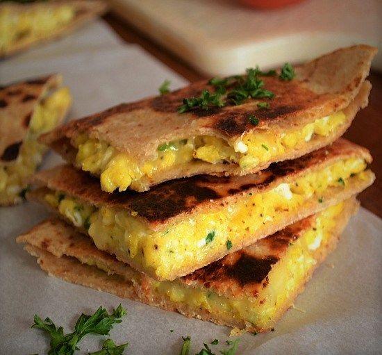 Peynirli Kahvaltılık Quesadillas