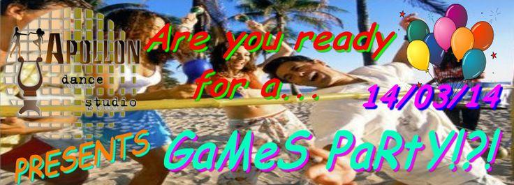 Apollon dance studio...: Games Party!!!