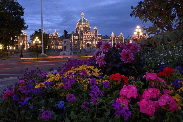 Victoria, B.C. Legislative Buildings