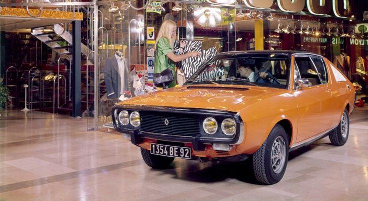 Renault 17 TS -  Avec sa sœur, la R15, le coupé dessiné par Gaston Juchet était bâti sur base de Renault 12.