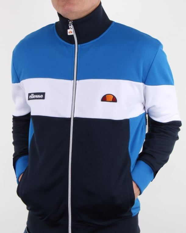 40f5496c Ellesse Messina Track Top Navy/royal Blue, Mens, Tracksuit | Sweat ...