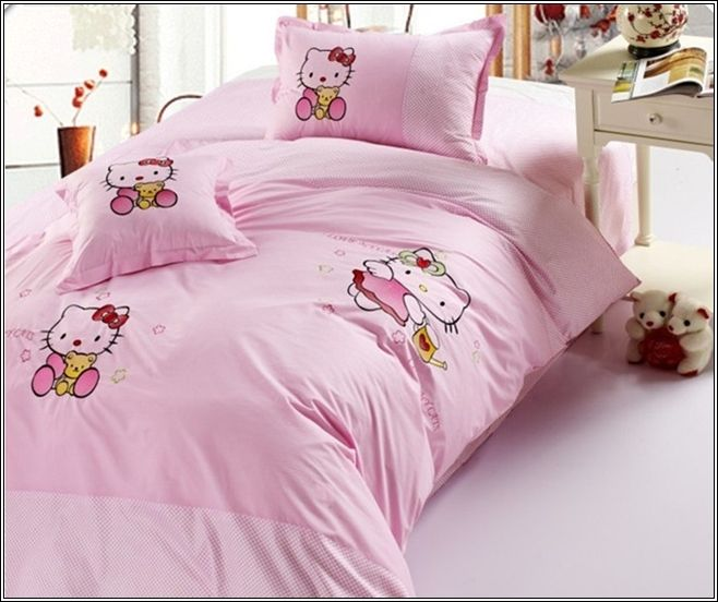 dcorez la chambre de votre petite fille avec hello kitty thme dcor de maison - Decoration Hello Kitty Chambre