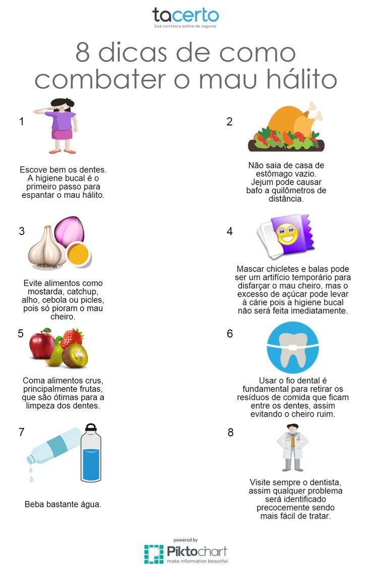 Conheça 8 dicas de como combater o mau hálito.