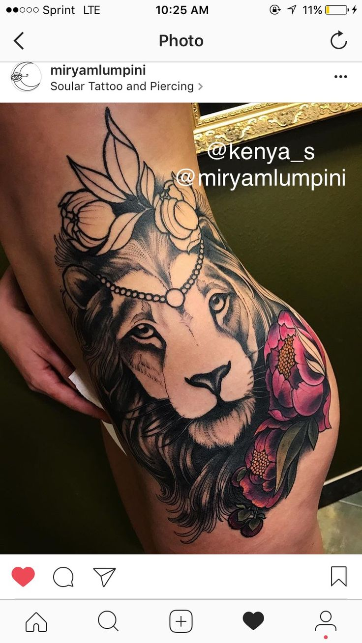 150 realistic lion tattoos and meanings 2017 collection - Lion Tattoo Half Way Part 2 Kenya_s Miryamlumpini