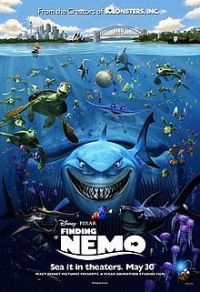 Finding Nemo is a 2003 American computer-animated comedy-drama adventure family film written and directed by Andrew Stanton, released by Walt Disney Pictures, and the fifth film produced by Pixar Animation Studios.