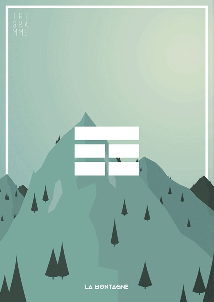 Trigramme - La Montagne
