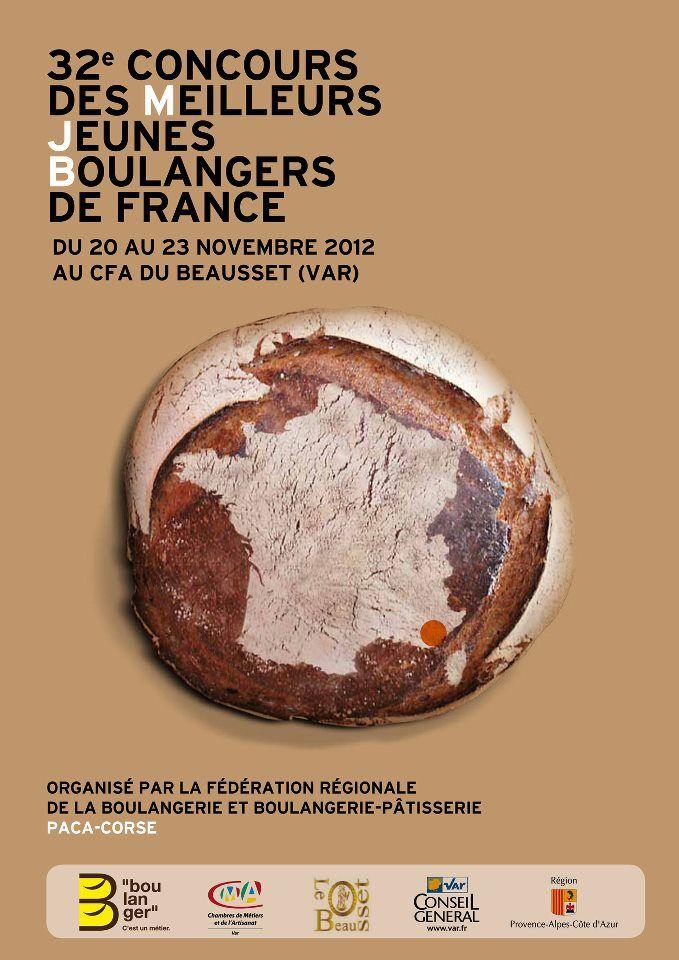 Affiche pour le 32ème concours des Meilleurs Jeunes Boulangers de France