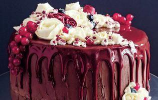 rețetă de tort cu cremă de ciocolată neagră