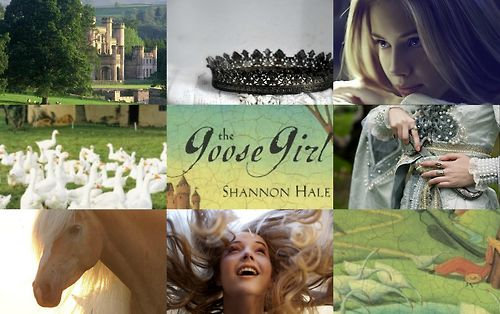 The Goose Girl Shannon Hale Books Of Bayern Collage 1