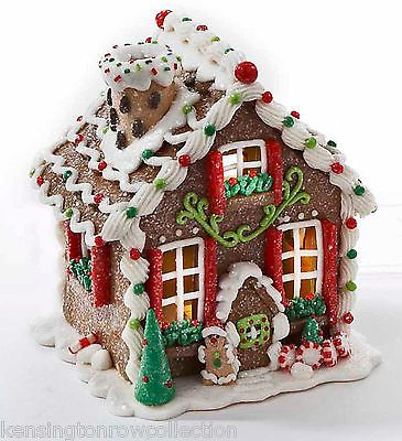 christmas decoration led lighted gingerbread house santa on diy christmas in 2018 pinterest gingerbread christmas gingerbread and christmas