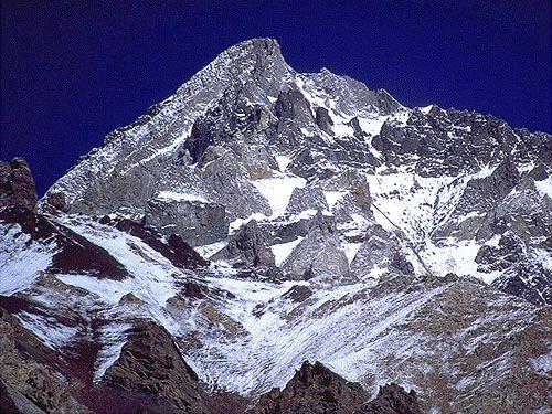 Parque Aconcagua - Cerro Aconcagua 2nd tallest mountain  in the world.