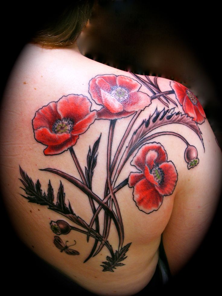Poppy Flower Tattoo Meaning