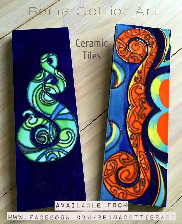 Reina Cottier Art- Ceramic Tiles avaialble direct from Reina Cottier www.facebook.com/reinacottierart