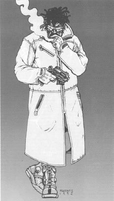 Monsters and Manuals: Iconic Cyberpunk 2020 Images