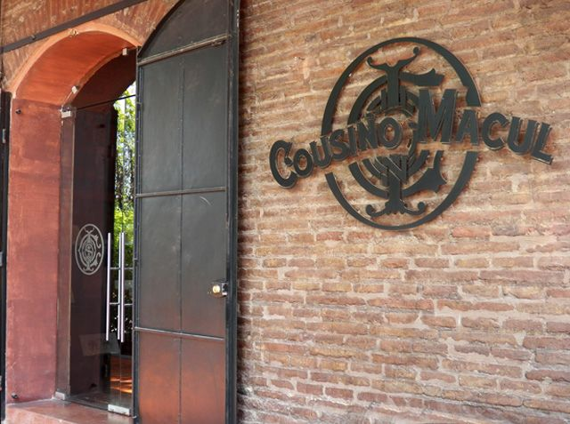 Vina Cousino Macul. Santiago, Chile